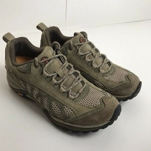 Merrell Womens Leather Hiking Shoes